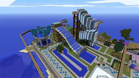 Theme Park Minecraft | minecraft amusement park