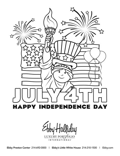 4th of July Coloring Book Contest 2019 | Park Cities People