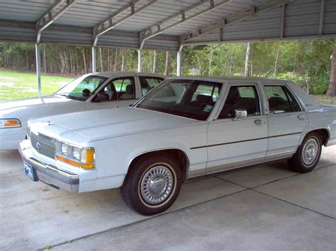 car engine manuals 1989 ford ltd crown victoria security system 1989 ford crown victoria for sale classiccars com cc 914190