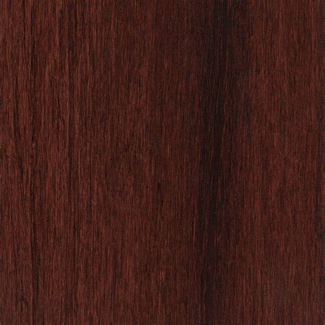 Home Legend Hand Scraped Strand Woven Bamboo Cognac 7 in