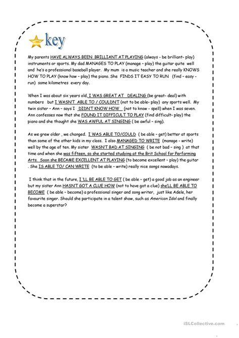 verb pattern talk let s talk about abilities worksheet free esl printable
