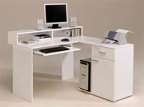 Small White Computer Desks Computer Desks For Corner Area Of Home Office