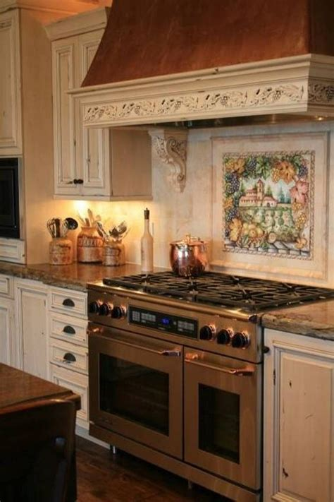 italian kitchen backsplash italian style tile backsplash stove style ideas