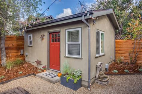 Backyard House by 250 Sq Ft Backyard Tiny Guest House