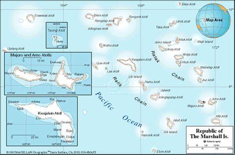 marshall islands map marshallinseln geographischen karte
