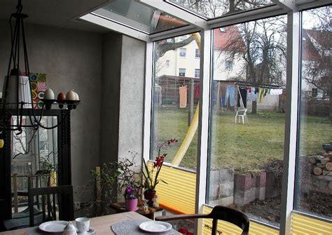 reihenhaus modernisieren reihenhaus wintergarten mit wenig glasfl 228 che aber v 246 llig