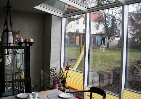 veranda reihenhaus reihenhaus wintergarten mit wenig glasfl 228 che aber v 246 llig