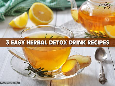 Herbal Detox Recipes by Most Effective Detox Drinks For Burning And Losing