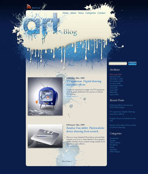 how to create a stylish hotel website psd to html paint splatters splash silver design how to create a