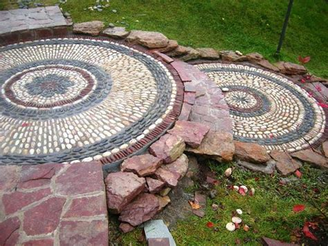 Backyard Pebbles by 25 Unique Backyard Landscaping Ideas And Garden Path