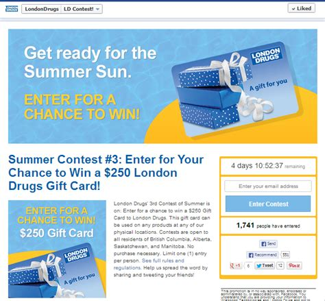 Facebook Giveaway Disclaimer - 10 amazing exles of branded facebook contests done right