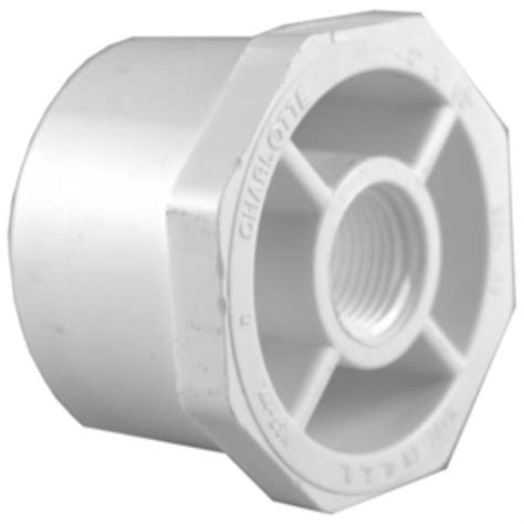 pvc fittings reducing 3 4 pipe 1 1 4 in x 3 4 in pvc sch 40 spg x s