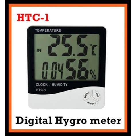 thermometer htc 1 putih htc 1 lcd screen digital hygrometer thermometer