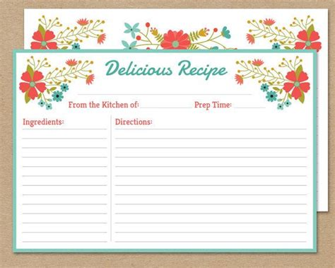 Vintage Lemon Recipe Card Template by 24 Best Vintage Printables For The Home Images On