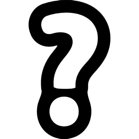 imagenes simbolos de interrogacion signo de interrogaci 243 n esquema descargar iconos gratis