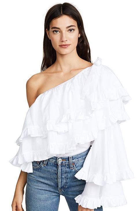 Dolce Blues Sl Blouse Wanita Denim Biru s blouse raluca fashion