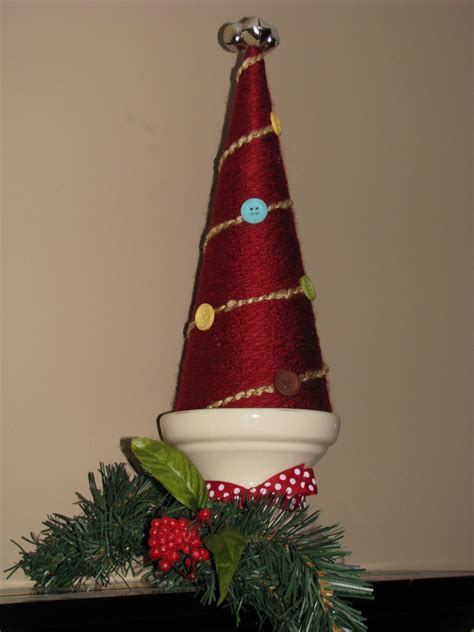 create a yarn christmas tree toddler wonderland holiday