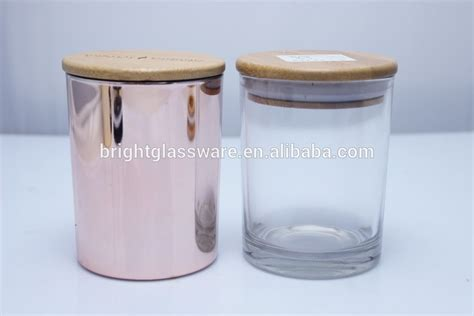 kerzenhalter rosegold china factory glass candle holder gold color candle