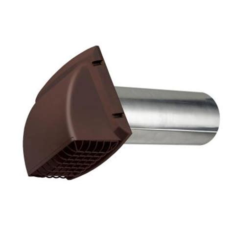 everbilt wide dryer vent in brown bpmh4bhd6