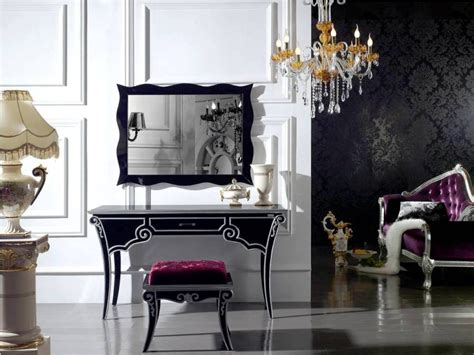 vanity with lighted mirror and bench black makeup vanity table with lighted mirror and