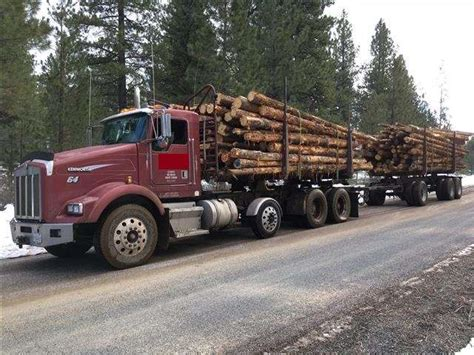 truck redmond oregon 1998 kenworth t800 logging truck for sale 914 460