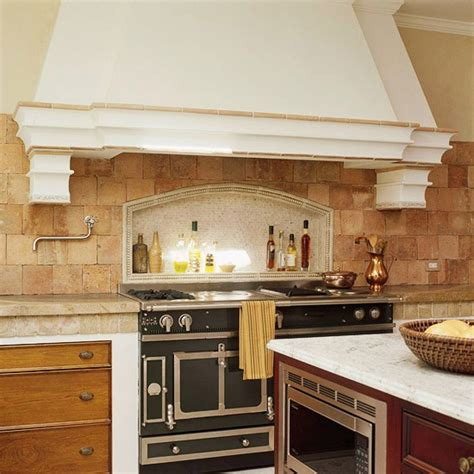 limestone backsplash kitchen kitchen tiles