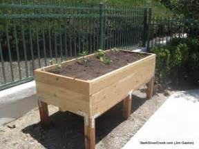 This variation of my vegetable planter box plans from jim g extends