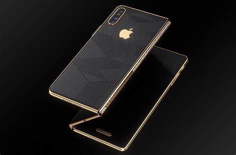 opvouwbare telefoon concept toont iphone met diamanten letsgodigital