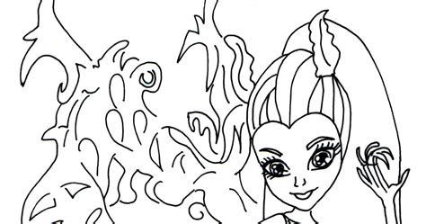 monster high bonita femur coloring pages free printable monster high coloring pages bonita femur