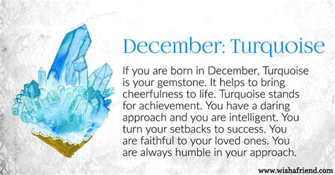 turquoise birthstone meaning your birth stone is december