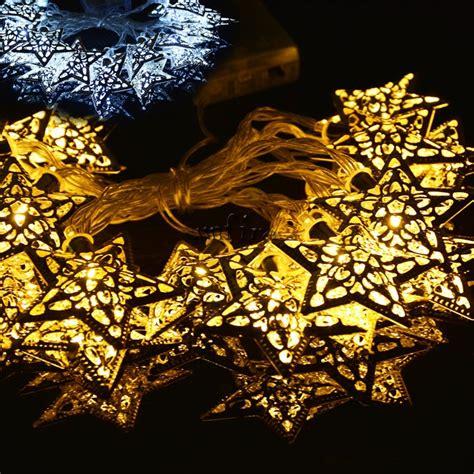 decorative lights for bedroom 20 silver metal pendant led string lights