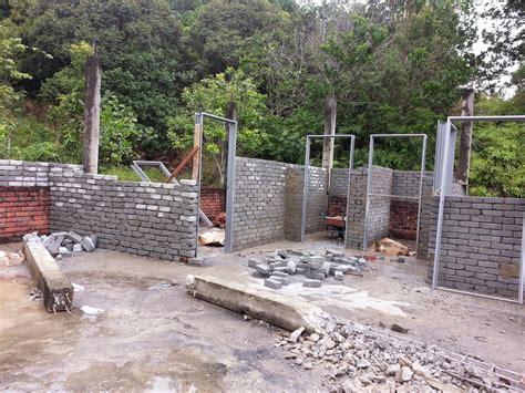 membuat ground rumah chan plaster renovation membina rumah satu tingkat di
