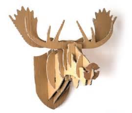 16 cardboard deer head ideas guide patterns