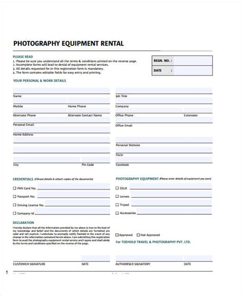 equipment invoice template printable receipt forms 41 free documents in word pdf