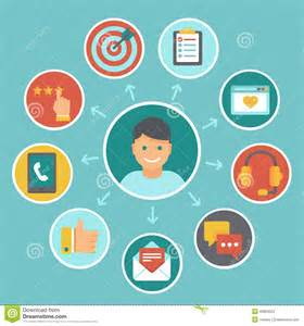 vector flat customer experience concepts vector flat customer experience concepts stock vector image 40804023
