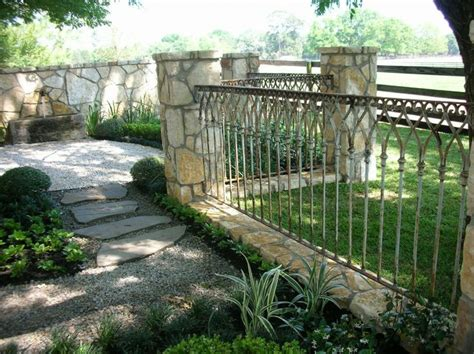 front yard iron fence 17 best images about patio designs on front
