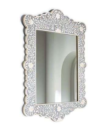 bone inlay mirror horchow bone inlay mirror look 4 less