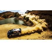 Ford Fiesta WRC Rally Car Dust Wallpaper  1920x1080 Full HD