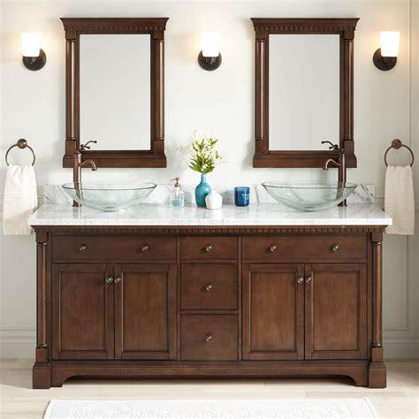 antique bathroom sinks and vanities 72 quot claudia double vessel vanity antique