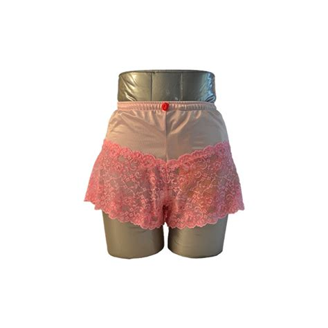 Lace Boy Shorts women s lace boy shorts pink c s ostomy pouch
