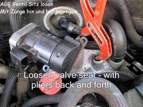 Bmw 1er Dtc Defekt by How To Remove Agr Ventil Egr Valve Mercedes E