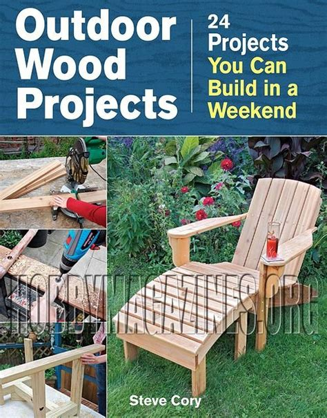 outdoor wood projects 187 hobby magazines free download