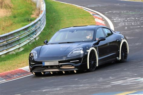 porsche electric spyshots 2019 porsche mission e electric sports sedan