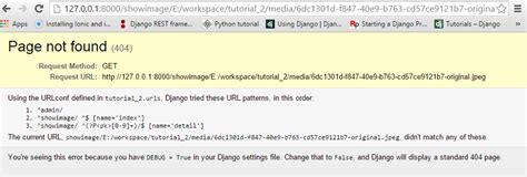 django tutorial unicode django rest framework api image url not proper return
