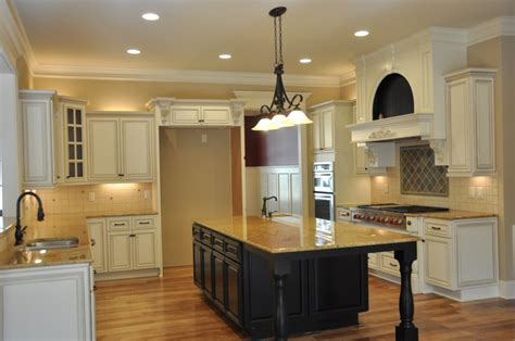 Antiqued White Kitchen Cabinets by White Label Cabinets Inc Custom Branded Premium Cabinets