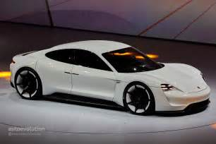 Porsche Starting Price Porsche Mission E To Get Competitive 85 000 Starting