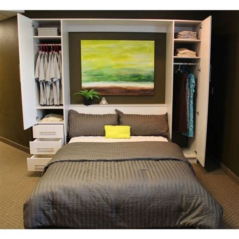 Wall Ls For Bedroom Ikea by Enjoy Some More Convenience Through Diy Murphy Bed