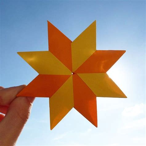 Orange Origami Paper - may 20th 2015 origami noria i made origami