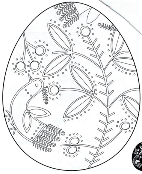 pysanky eggs coloring page pysanky colouring pages