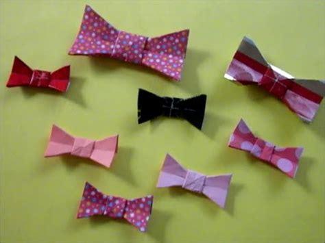 Easy Origami Bow Tie - easy origami bow tie